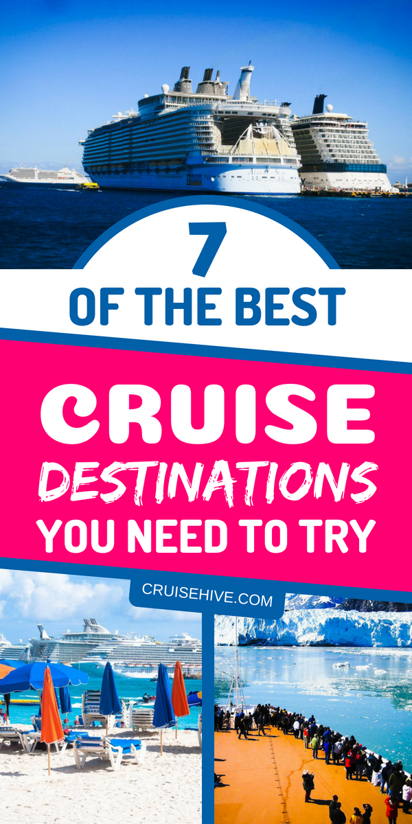 If you're planning to travel on a cruise ship then here are some of the best cruise destinations to consider.