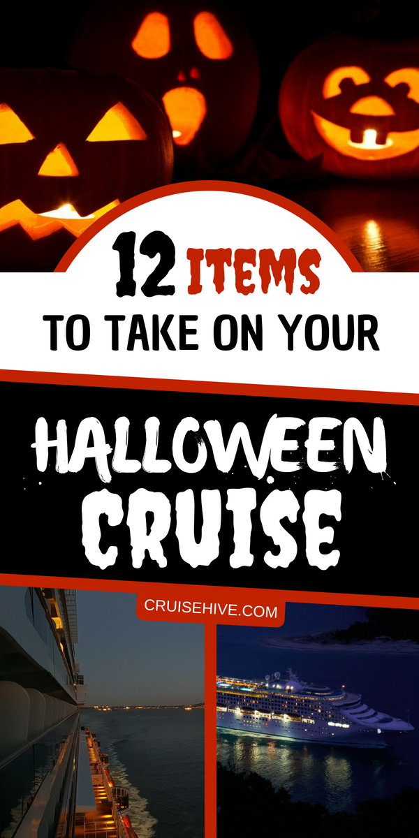 Carnival Halloween Cruise 2019.12 Items To Take On Your Halloween Cruise