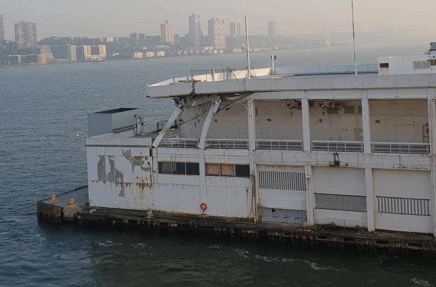 Carnival Horizon New York Pier Damage