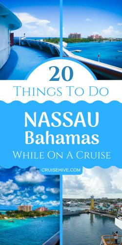 You can do all of these things when the cruise ship visits Nassau, Bahamas. Follow these travel tips and guides about this stunning destination.