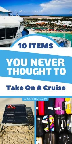If you're planning a cruise vacation then we've put together these items which you might have never thought to pack. Some handy items for your travel packing list.