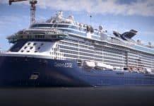 Celebrity Edge Outfitting Stage
