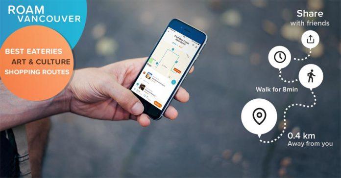 Roam Vancouver App