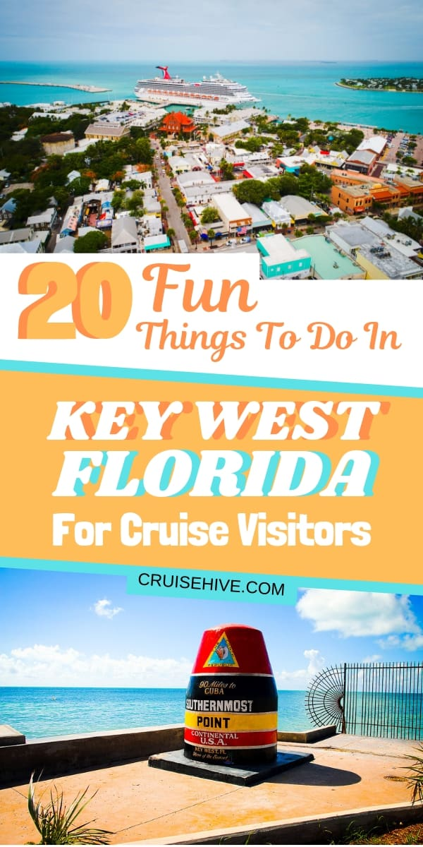 We've got these fun things to do in Key West, Florida catered towards those on a cruise vacation. Covering beaches, restaurants, and the popular Duval Street.