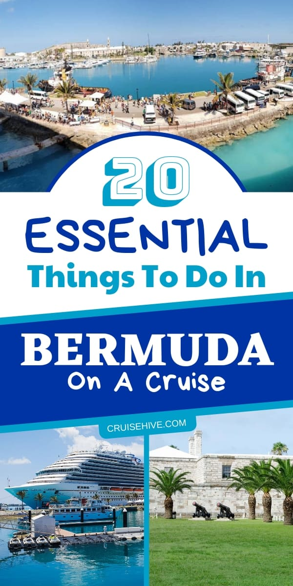 Here are cruise tips on things to do in Bermuda during a cruise vacation port visit. Follow these travel excursions to make you you have the best time ashore.