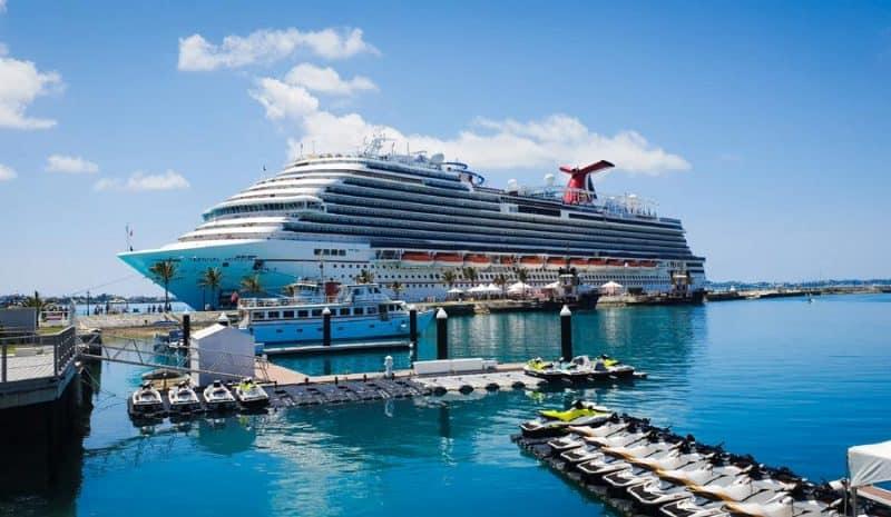 Cruise Ship in Bermuda