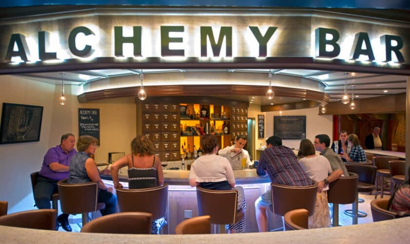 Carnival  Breeze Alchemy Bar