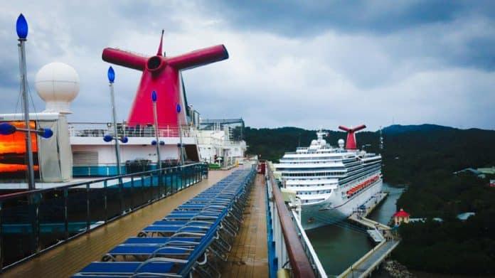 Carnival Cruise Ships in Port