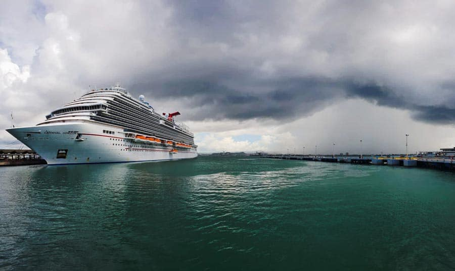 Carnival Horizon Weather