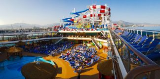 Carnival Horizon Lido Deck