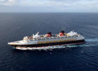 Disney Wonder at Sea