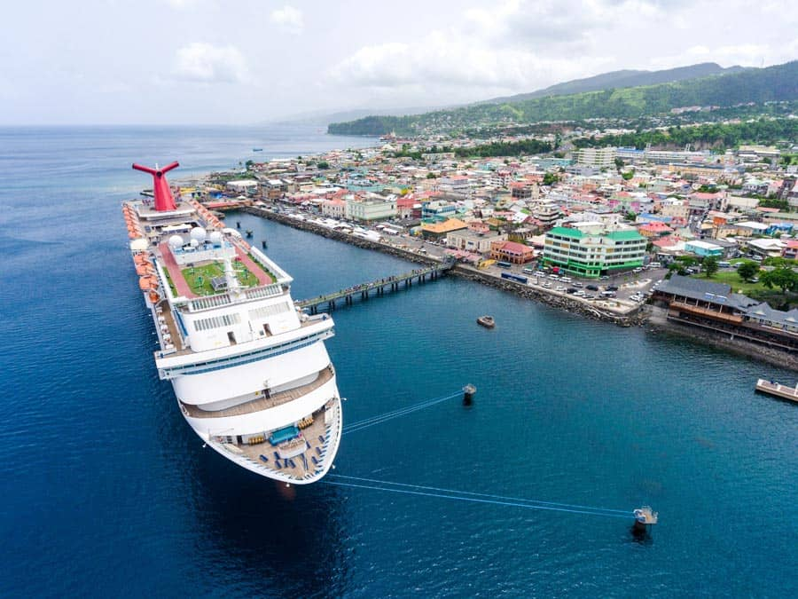 Dominica Cruise Port