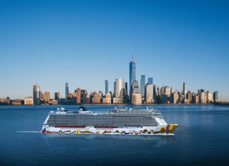 Norwegian Encore New York Rendering