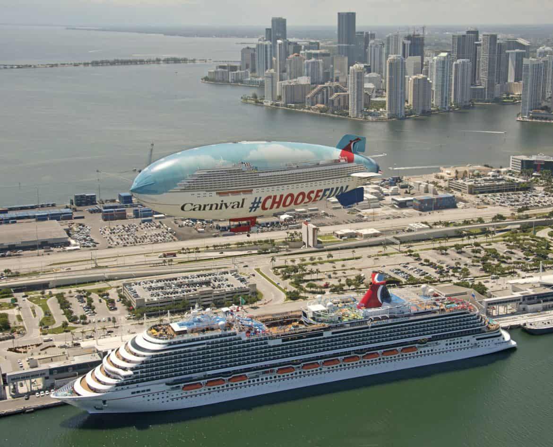 Miami Welcomes The Carnival Horizon Cruise Ship