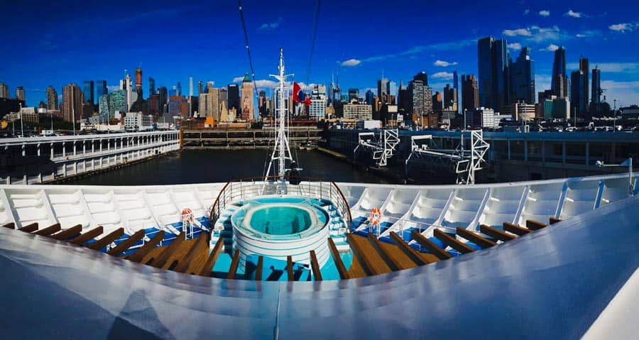 Carnival Horizon Aft, New York
