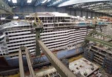 Spectrum of the Seas Under Construction