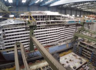 Spectrum of the Seas Under Construction