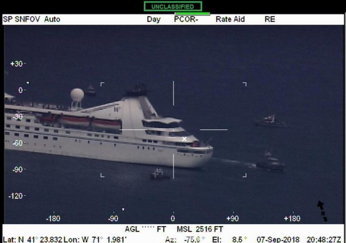 Stranded Star Pride Cruise Ship