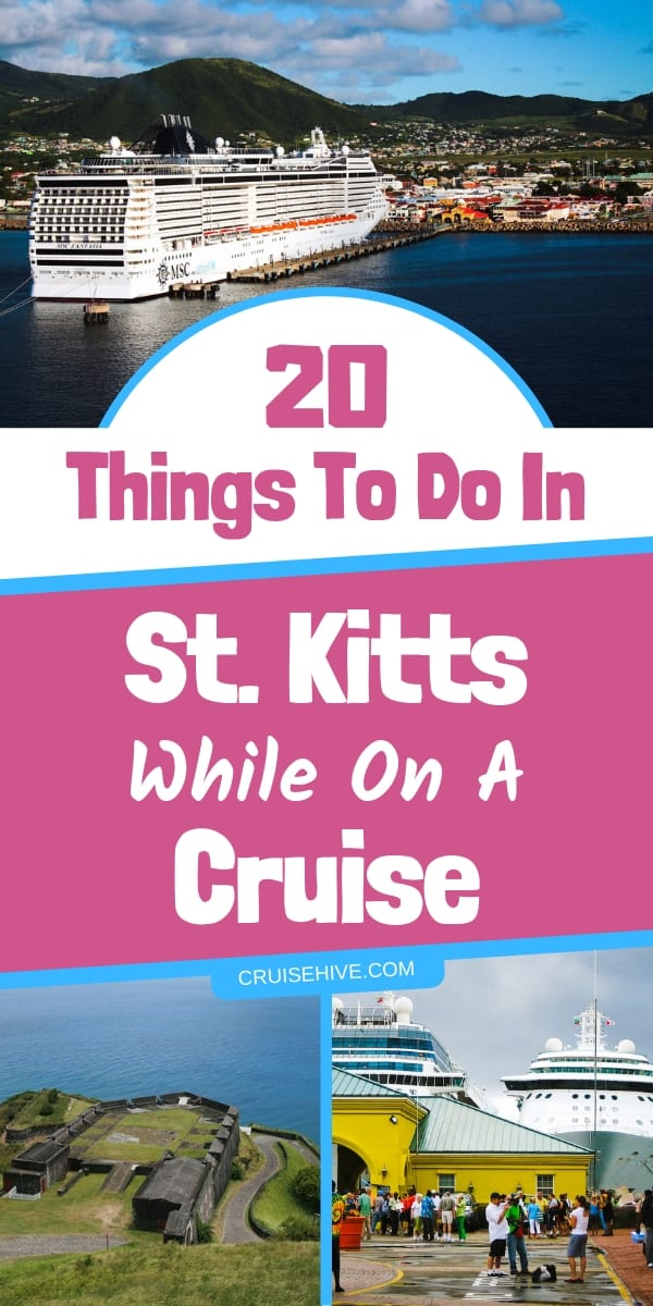 The best and most popular things to do in St. Kitts during a cruise vacation. Travel tips for this stunning island in the Caribbean.