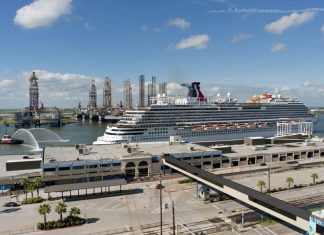 Carnival Vista in Galveston, Texas