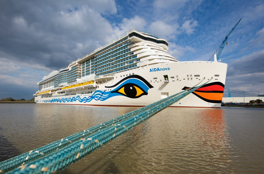 largest ever carnival owned cruise ship delivery delayed