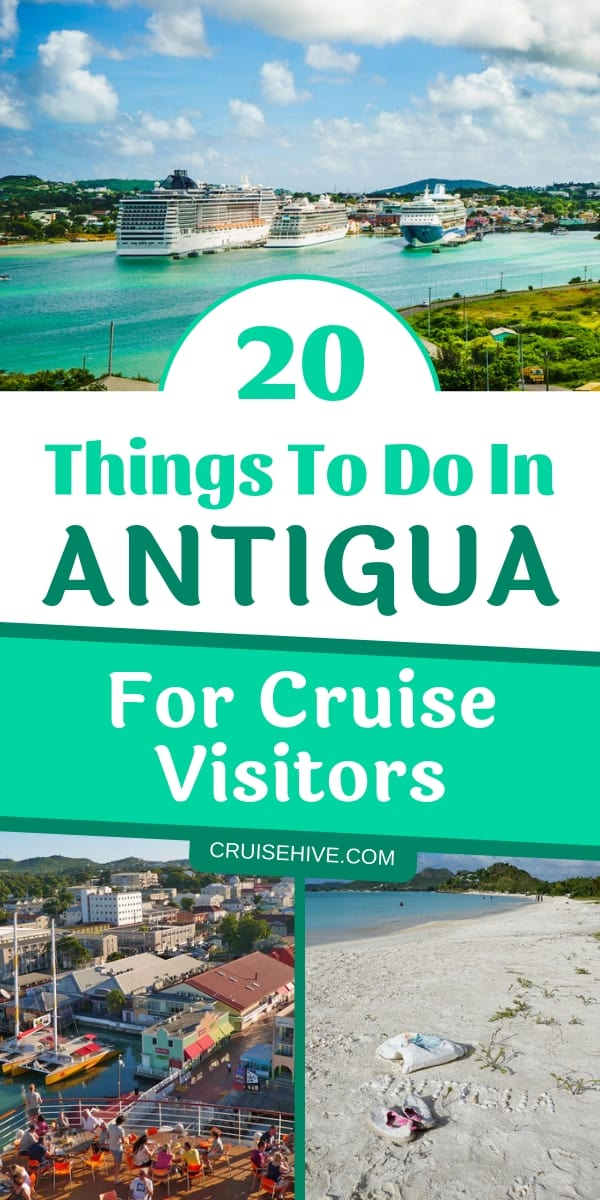 Here are 20 top things to do in Antigua, Caribbean for cruise ship passengers. Follow these travel tips to experience the island at its fullest.