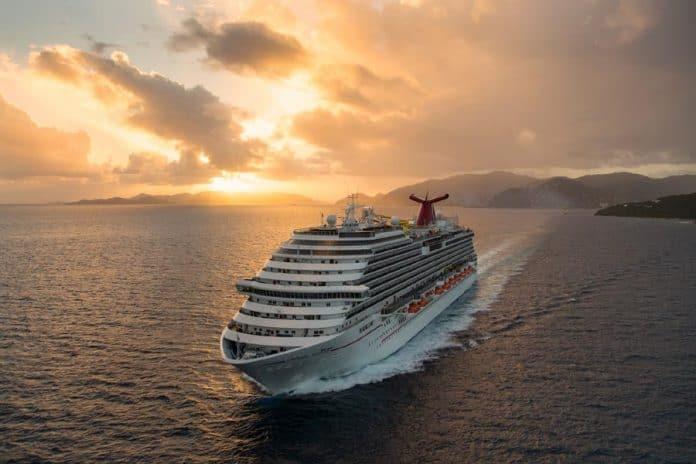 Carnival Breeze at Sea