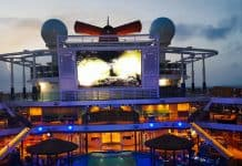 Carnival Cruise Ship Lido Deck