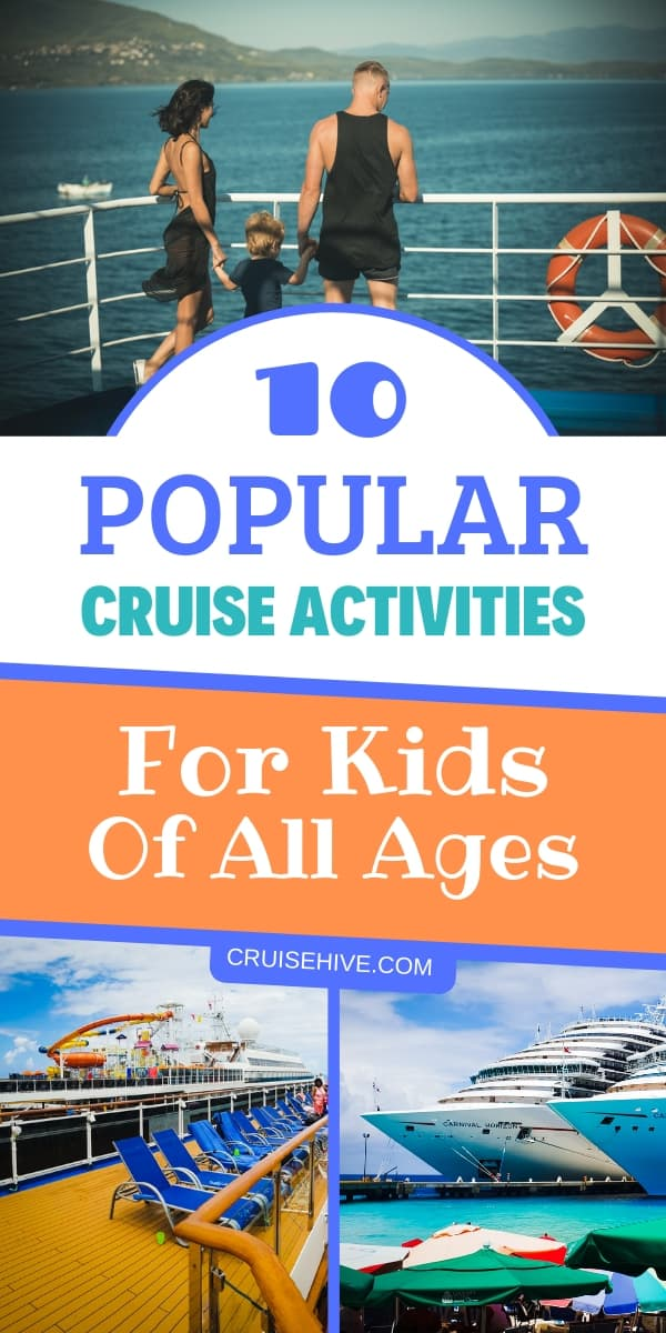 If you have a family cruise vacation coming up then here are the most popular cruise activities which the kids can enjoy.