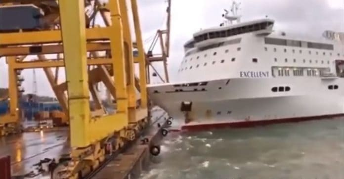 Excellent Cruise-Ferry Ship