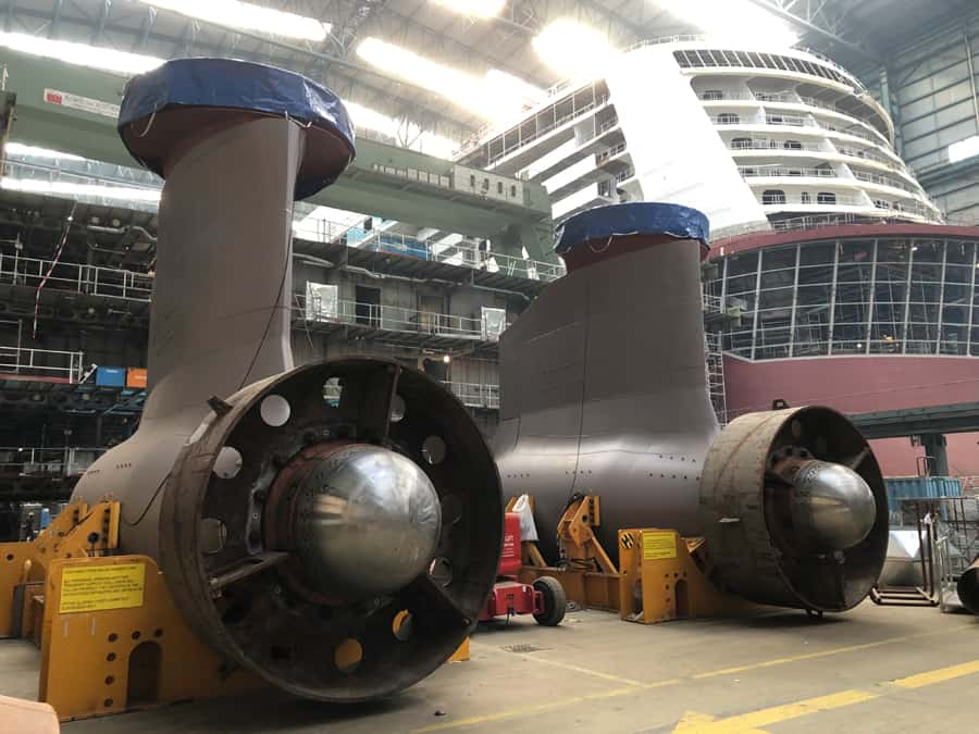 Spectrum of the Seas Azipods