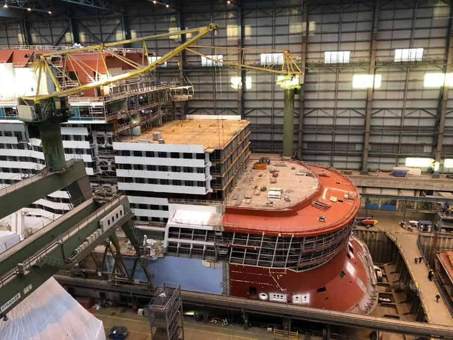 Spectrum of the Seas Construction, Oct 2018