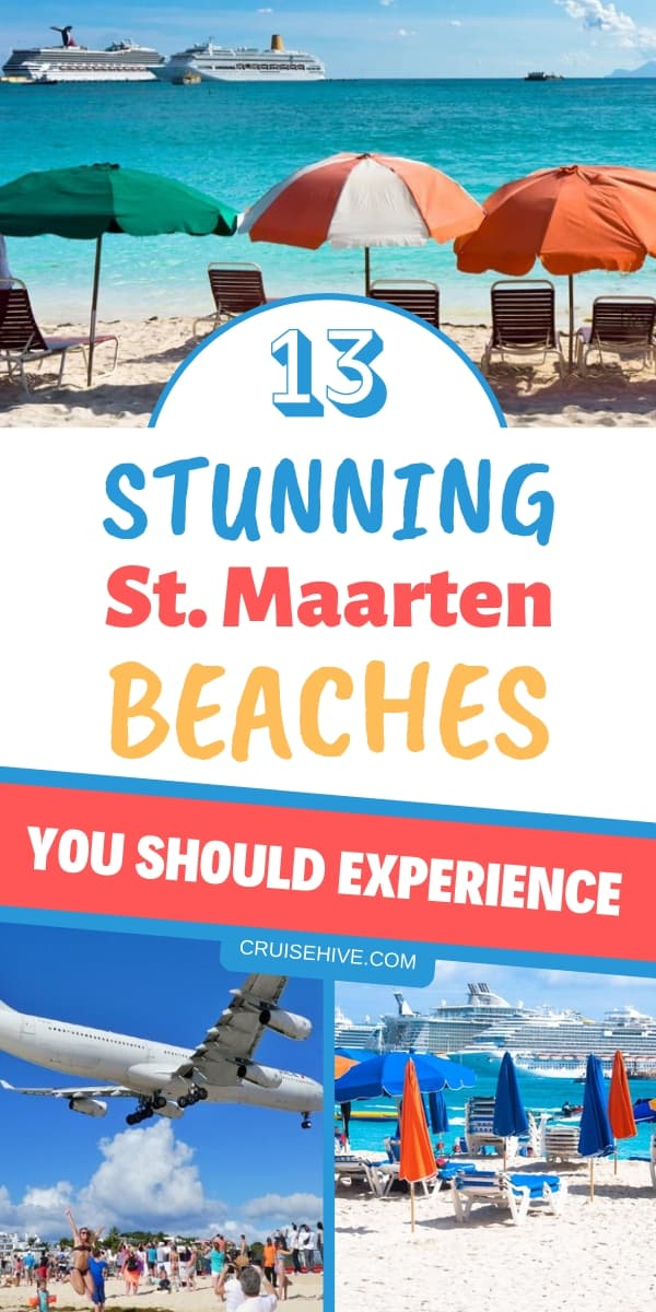 Find out about these stunning St. Martin / St. Maarten beaches during a cruise vacation in the Eastern Caribbean. Cruise tips on getting there, taxi prices and how far from the Philipsburg cruise port.