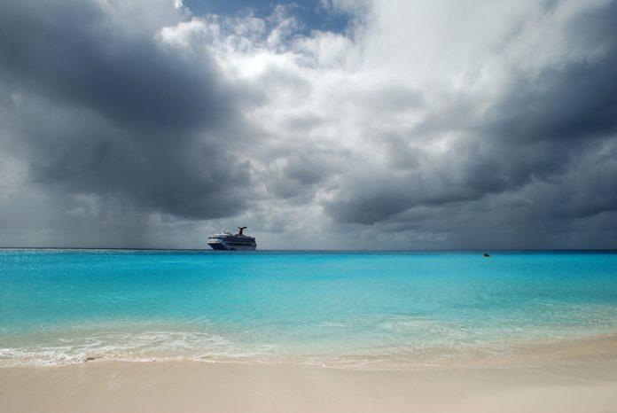 Caribbean Hurricane Storm