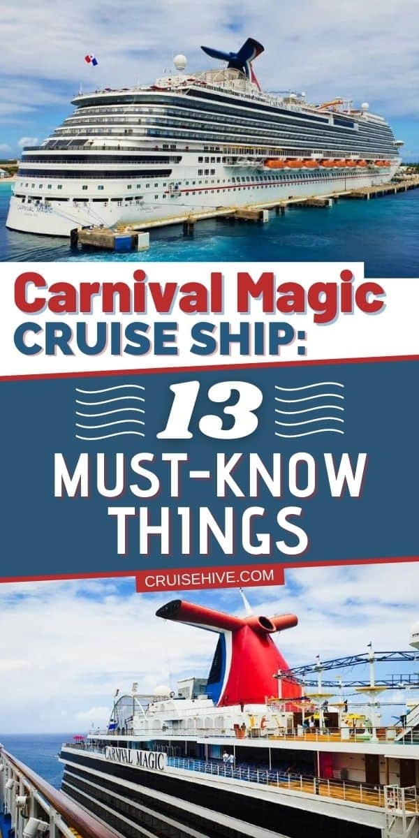 Carnival Magic Cruise Ship: 13 Must-Know Things
