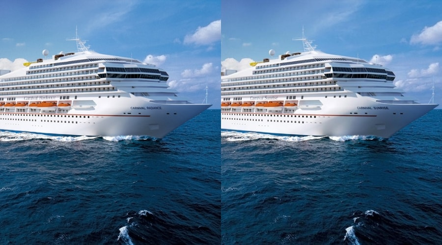 Itineraries Revealed For Carnival Radiance And Carnival