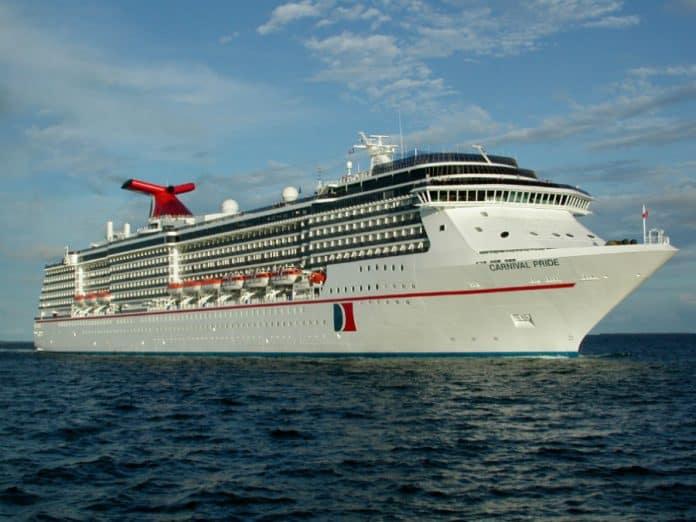 Carnival Pride at Sea