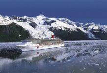 Carnival Spirit in Alaska