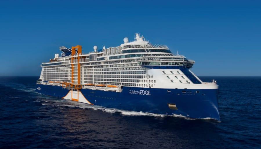 Celebrity Edge at Sea