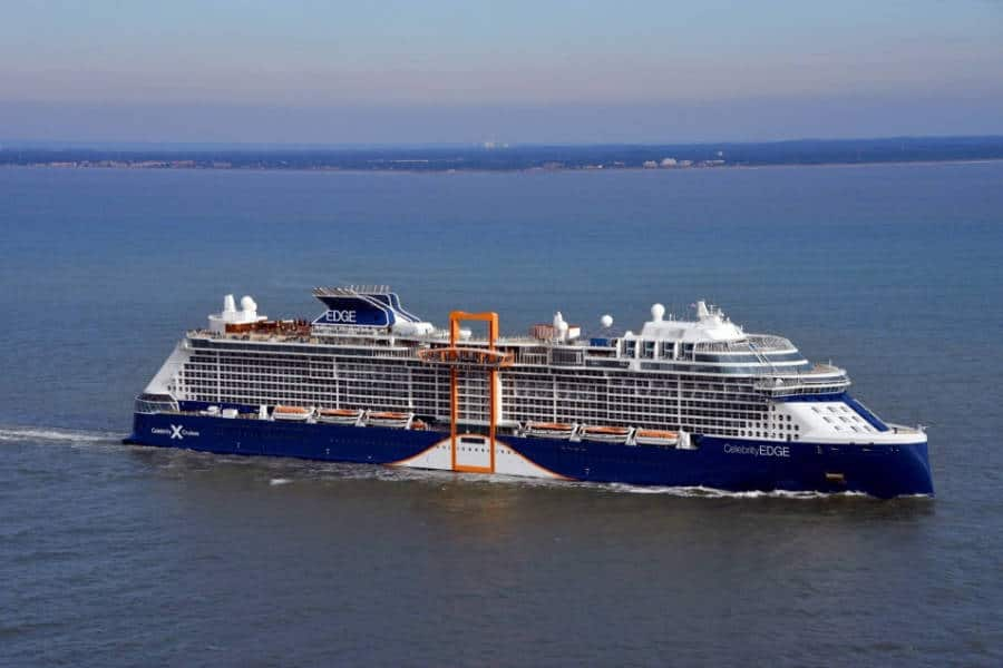 Celebrity Edge At Sea