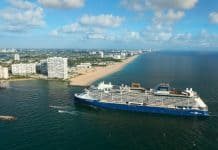 Celebrity Edge Arriving at Port Everglades