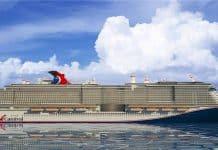 Carnival LNG Cruise Ship