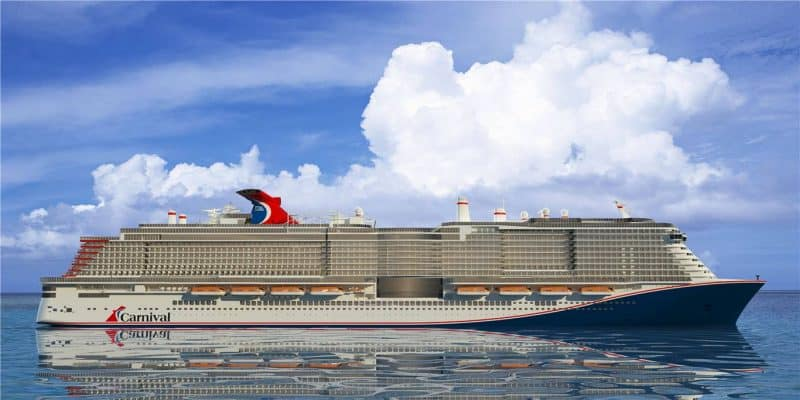 Carnival LNG Cruise Ship