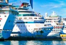 Nassau Docked Cruise Ships