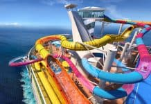 Navigator of the Seas Waterslide