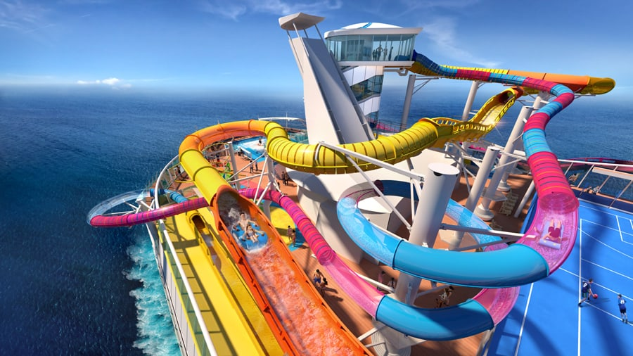 Royal Caribbean Cruise Ship To Feature Longest Waterslide