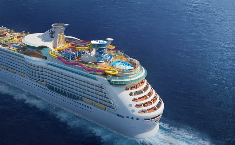 Navigator of the Seas Modernization Rendering