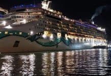 Norwegian Jade Docked in San Juan