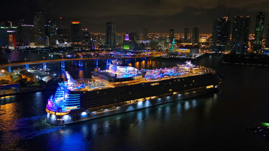 Symphony of the Seas Arrives in Miami
