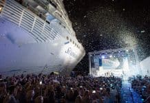 Symphony of the Seas Naming Ceremony